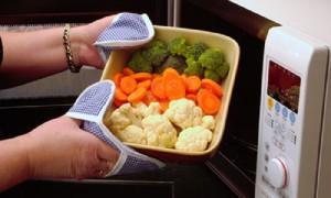 посуда в микроволновке